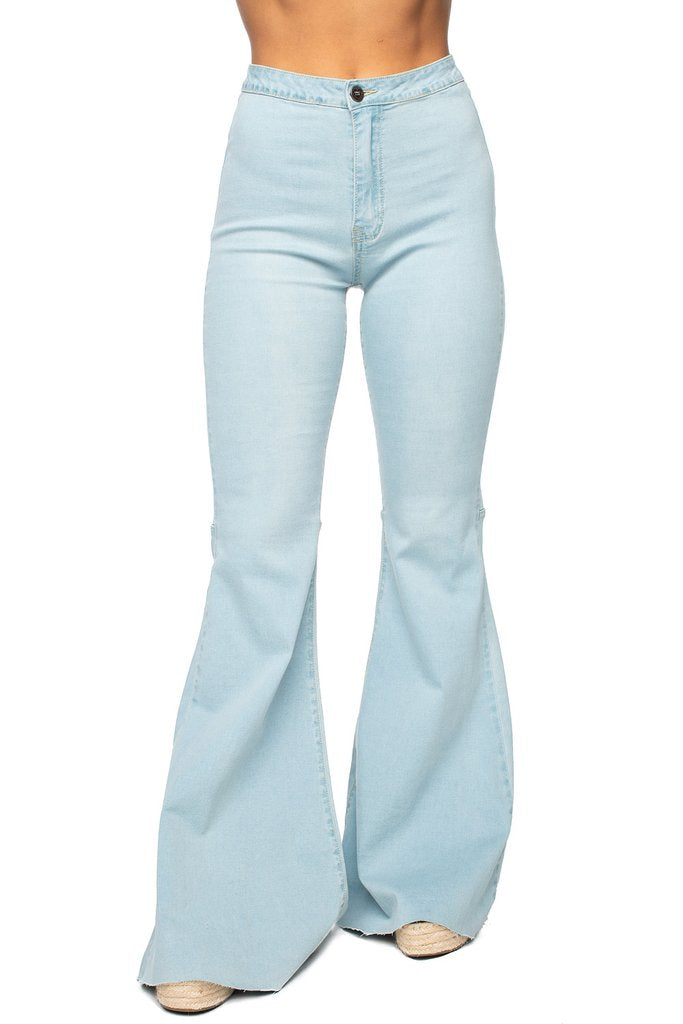 Moonshine High Waisted Flare Jeans