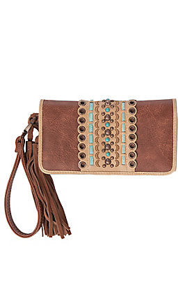 Blazin Roxx Laney Clutch Women's Wallet