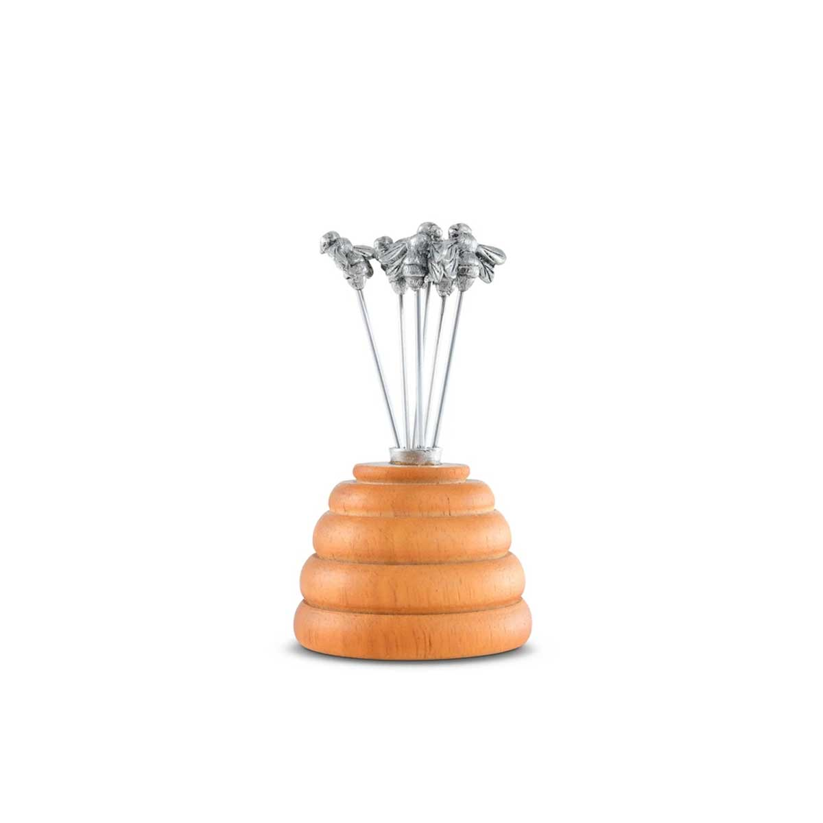 Vagabond House Hive of Bees Cheese Pick Set