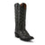 Nocona Women's Bessie Fish Print Boot - Black