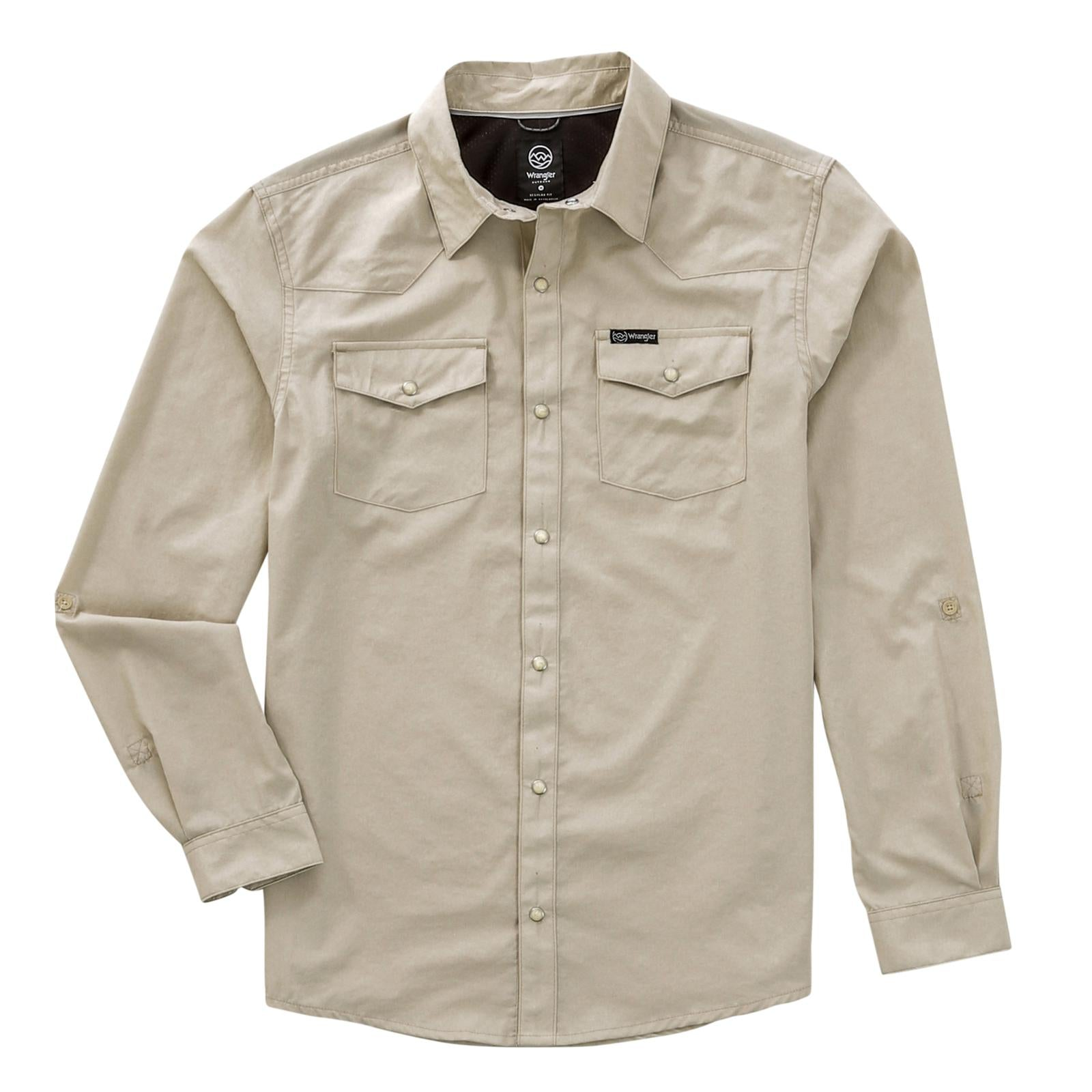 Wrangler All Terrain Gear Long Sleeve Outdoor Charlie Shirt