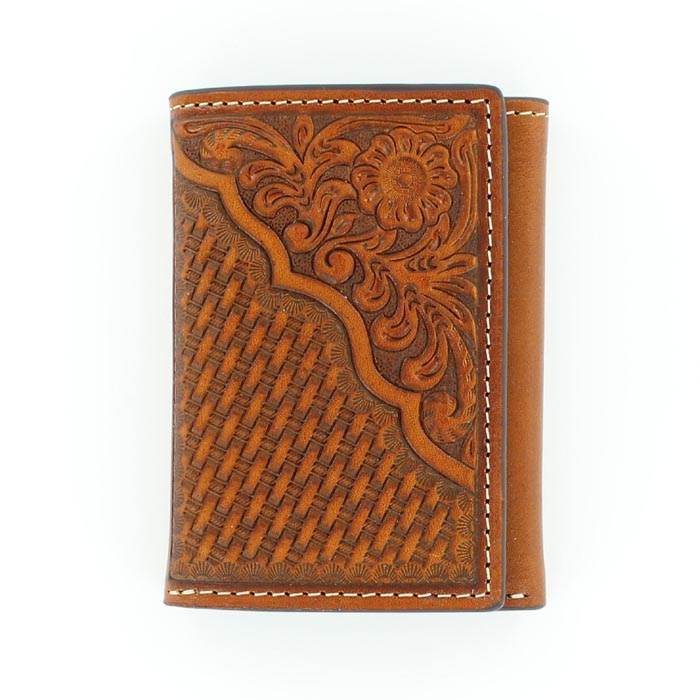 Nocona ProSeries Trifold Leather Wallet