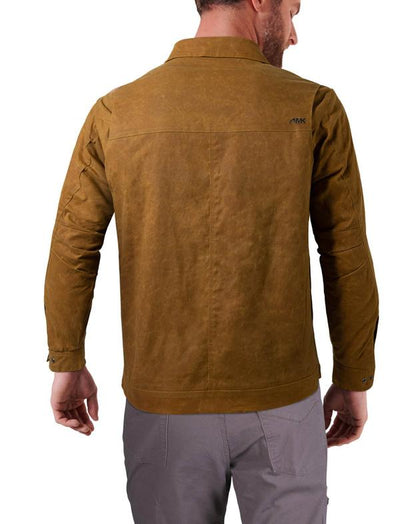 Mountain Khakis Men's Buckrail Waxed Canvas Western Jacket