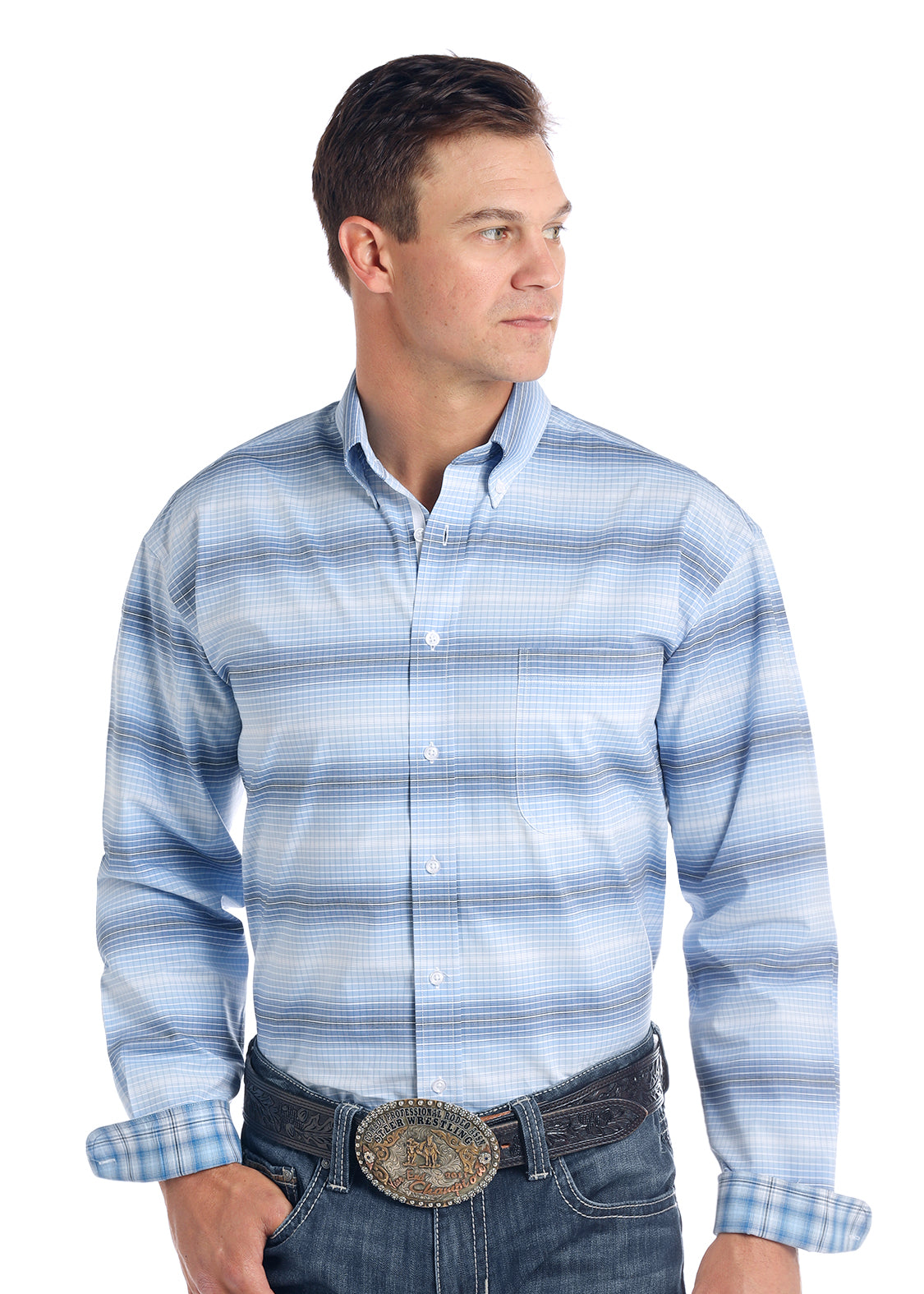 Panhandle Rough Stock Men's Button Down