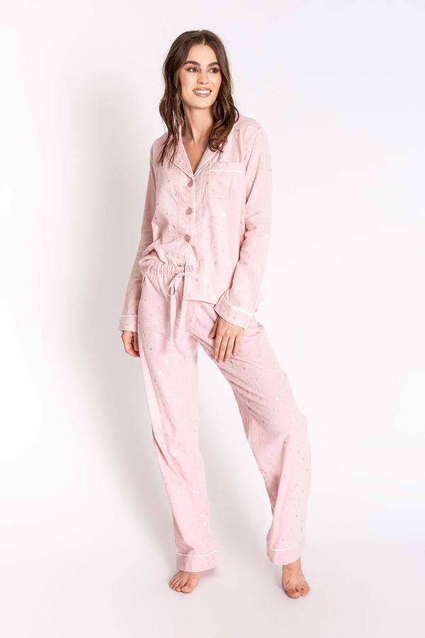PJ Salvage Rose Quartz Women's Pajama Set