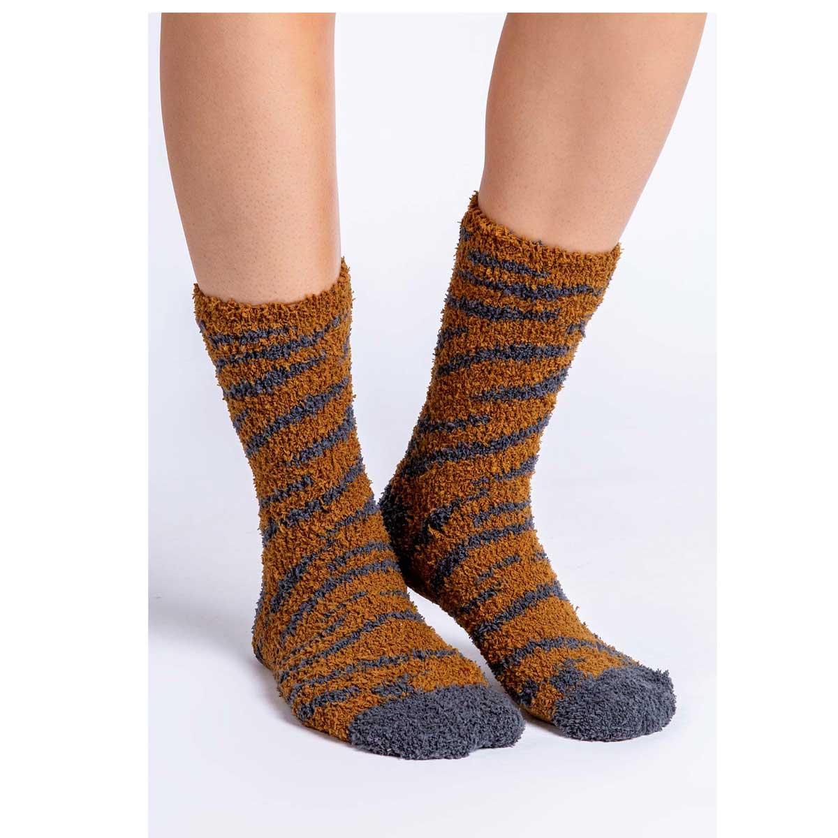 PJ Salvage Fun Socks - Camel