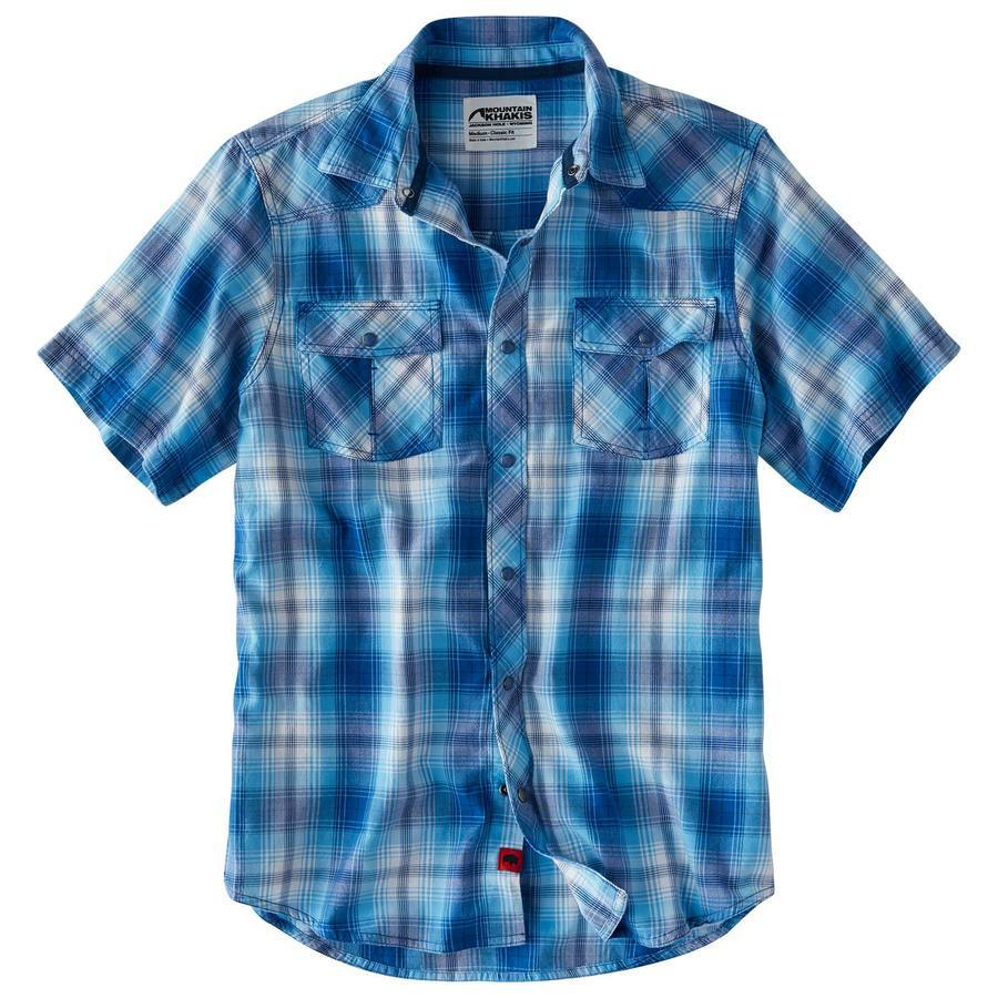 Mountain Khakis: Rodeo Men's Short Sleeve Shirt