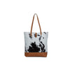 Myra Bag Rock-Strewn Canvas & Hairon Bag