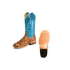 Anderson Bean Men's Cigar Matte Big Bass Boots - Blue Mad Dog