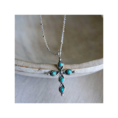 Sowell Jewelry Giulla Cross Necklace
