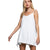 Pol Clothing Women's Not So Basic Spaghetti Strap Knit Tunic - Ivory