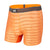 Saxx Men's Hot Shot  Boxer Briefs - Orange Blaze Heather