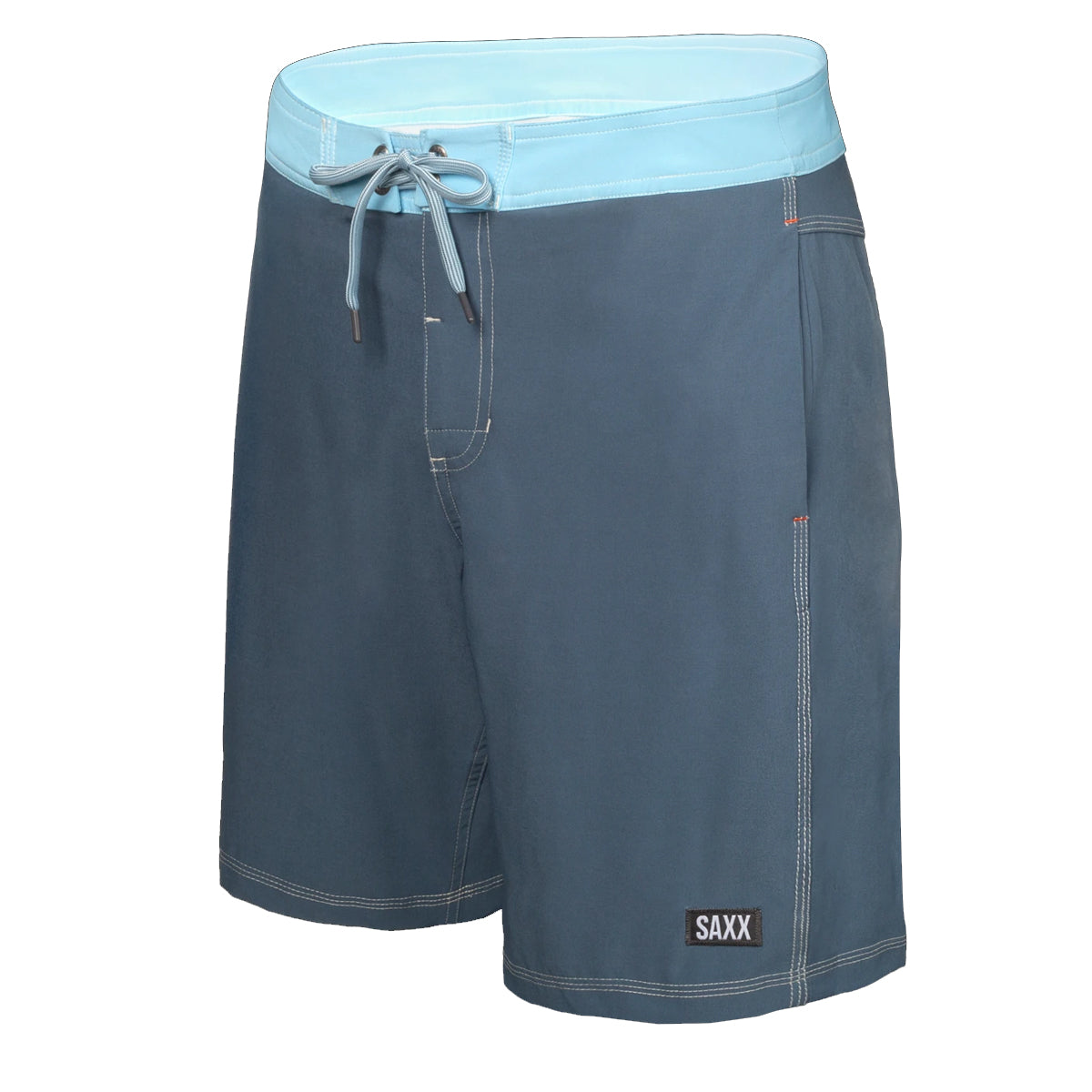 Saxx Men's Betawave 2-in-1 Swim Shorts - Twilight Azure