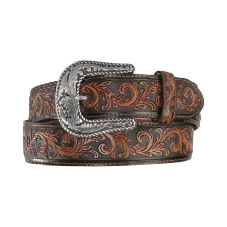 Men's Scottsdale Classic Tooled Belt By Tony Lama