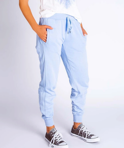 PJ Salvage What's Your Sign Banded Pants - Powder Blue