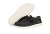 Hey Dude Wally Sox Men's Shoes - Black White