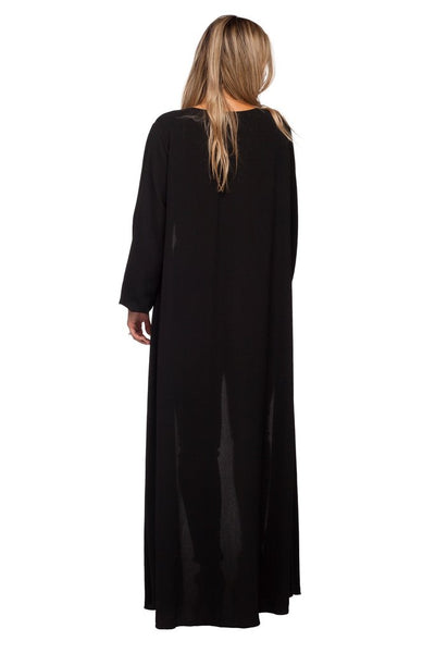 Buddy Love Black Stoney Long Sleeve Women's Duster