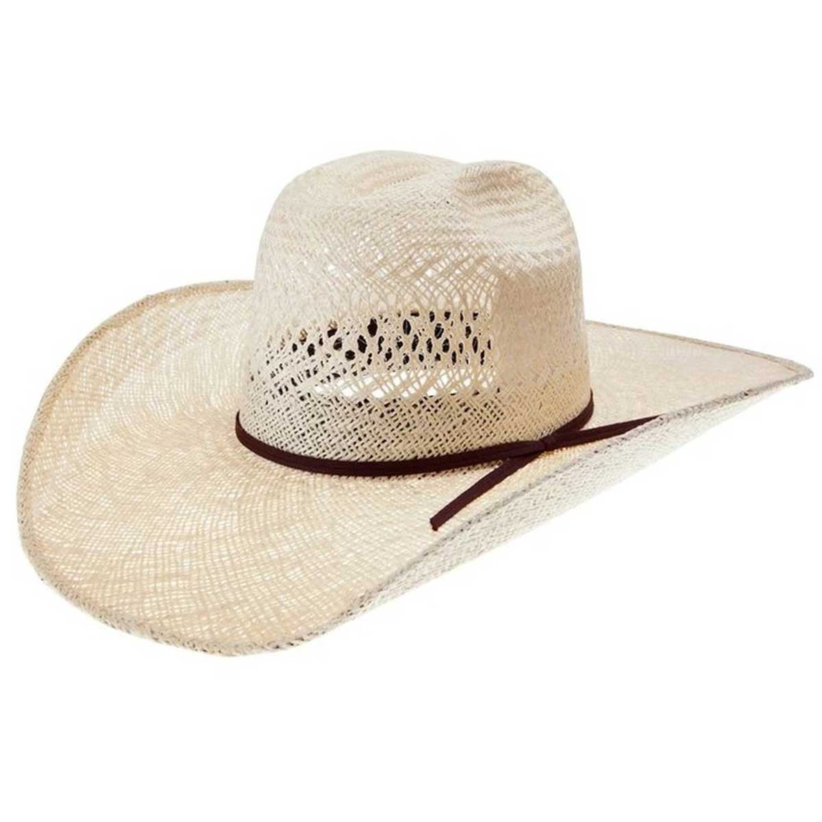 Alboum Hat Co. Rodeo King Jute Straw Hat - Tan