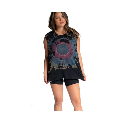The Laundry Room Women's Thrasher Muscle Tank - Galaxy