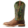 Ariat Men's Cowhand Western Boots - Mossy Green Tobacco