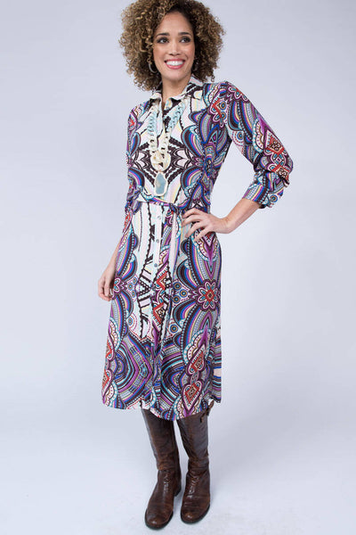 Midi Shirt Dress By Uncle Frank