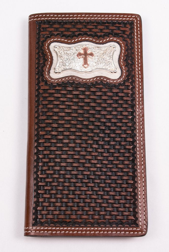 BASKET WEAVE WITH SQUARE CROSS RODEO