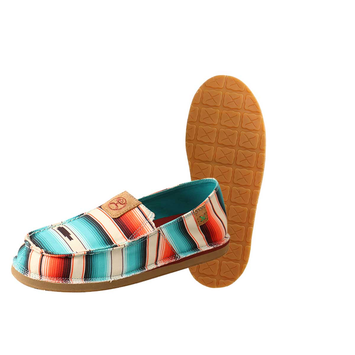 Twisted X Women's Hooey Slip-On Loper - Sunset Serape