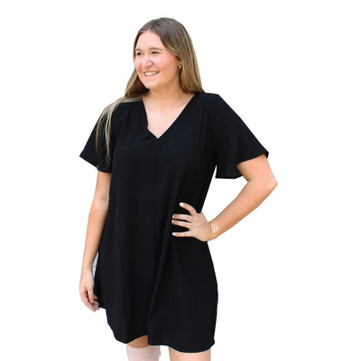 Wishlist V-Neck Tunic Dress