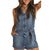 Rock & Roll Cowgirl Women's Denim Romper
