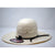 "American Hat Co. 4 1/4"" Brim Black Western Straw Hat"