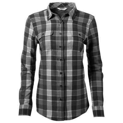 Mountain Khaki Black Pearl Street Women's Flannel