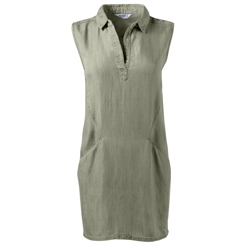 Mountain Khakis Taylor Tencel Olive Casual Dress
