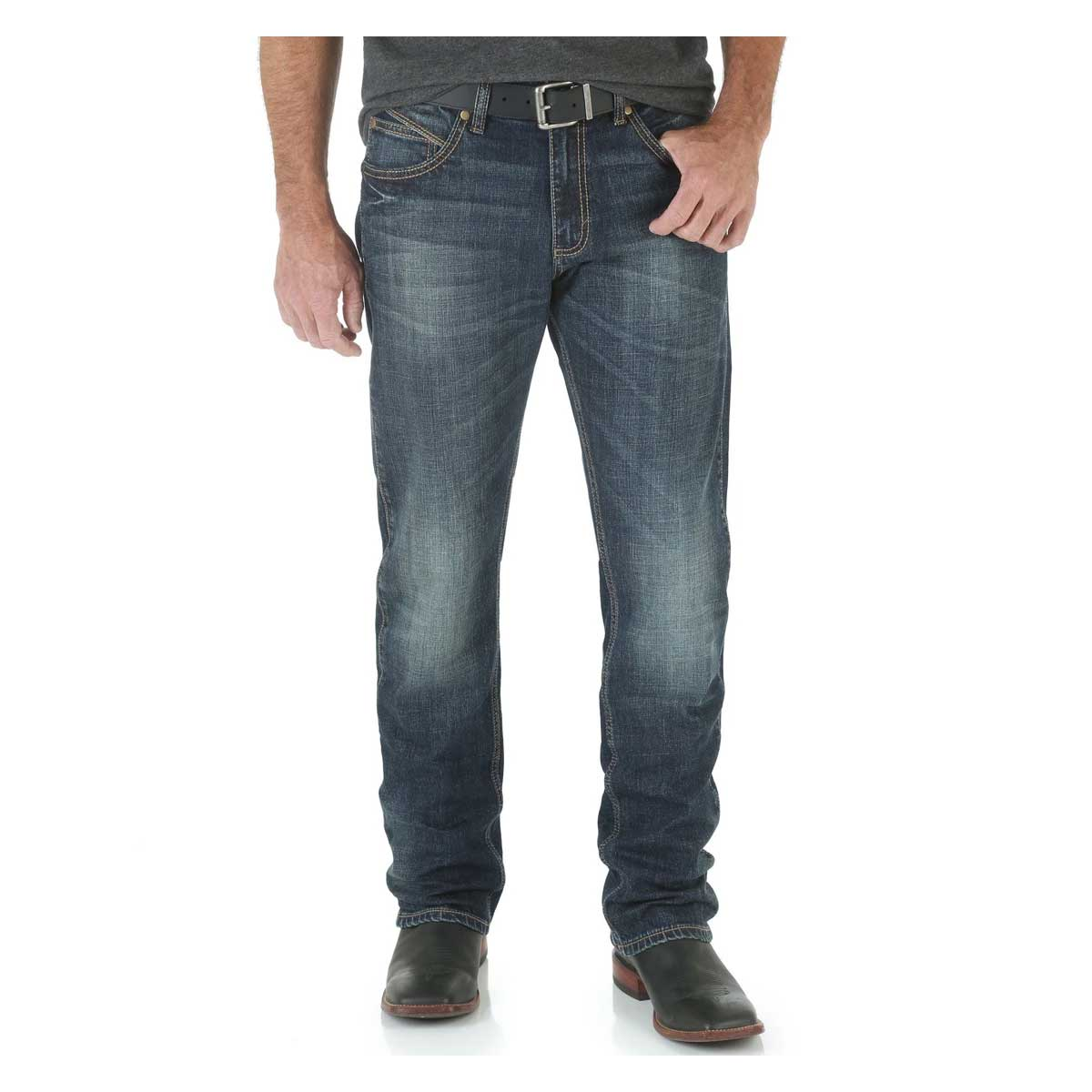 Wrangler Men's Retro Jeans - Slim Fit Straight Leg