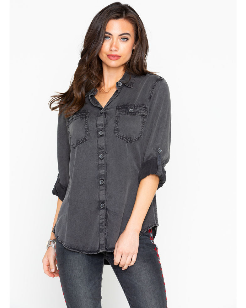 Women's Faded Button Up By Ariat