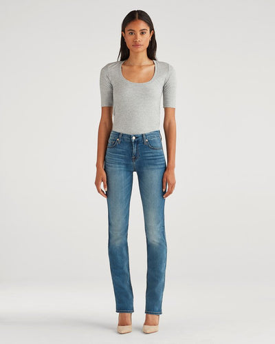 7 For All Mankind Kimmie Straight Women's Jean