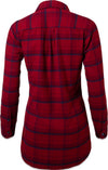 Mountain Khaki Cinnabar Penny Flannel Women's Tunic