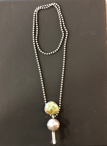 Ball & Chain Squash Blossom Necklace By Love Token