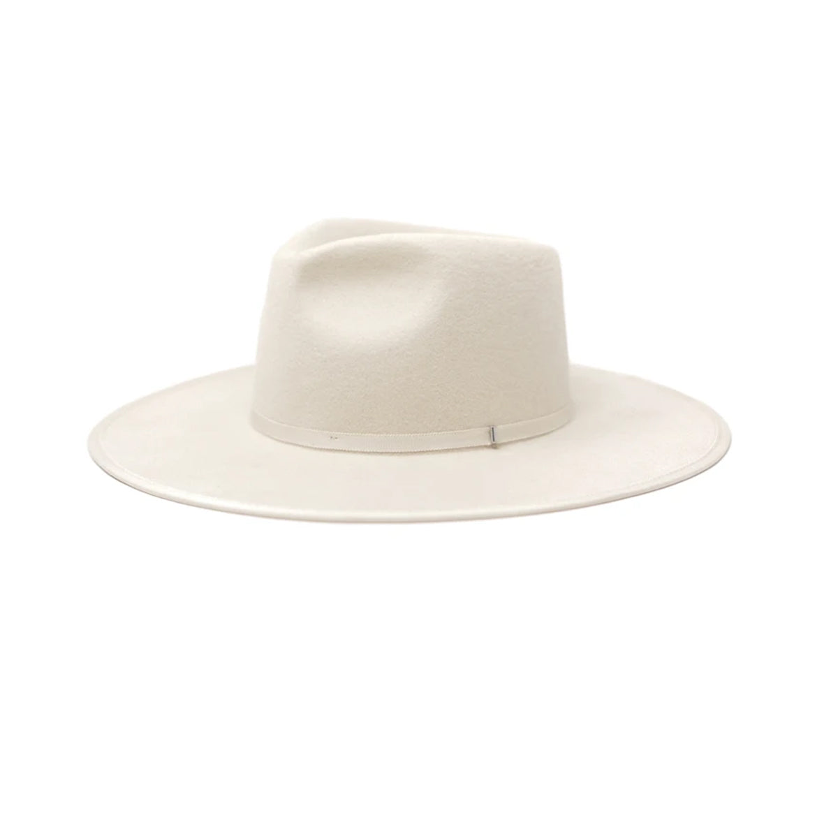 Olive & Pique Women's Billie Wool Rancher Hat - White