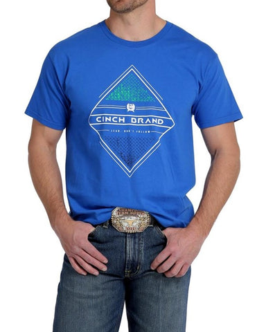 Lead Don't Follow Royal Blue Tee by Cinch