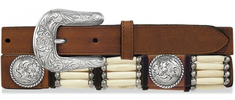 Women's Tony Lama Native Son Bone Belt