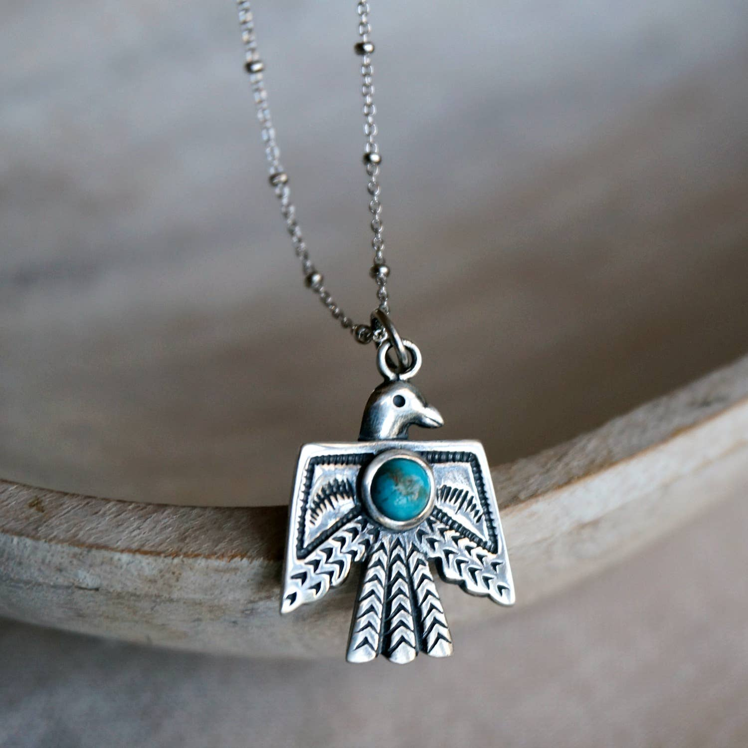 Thunderbird Turquoise Necklace