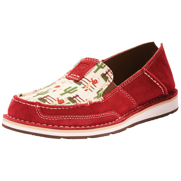 Women's Cranberry Old West Print Cruiser By Arait