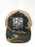 Lazy J Camo & Tan Unstructured Home Sweet Texas Patch Cap