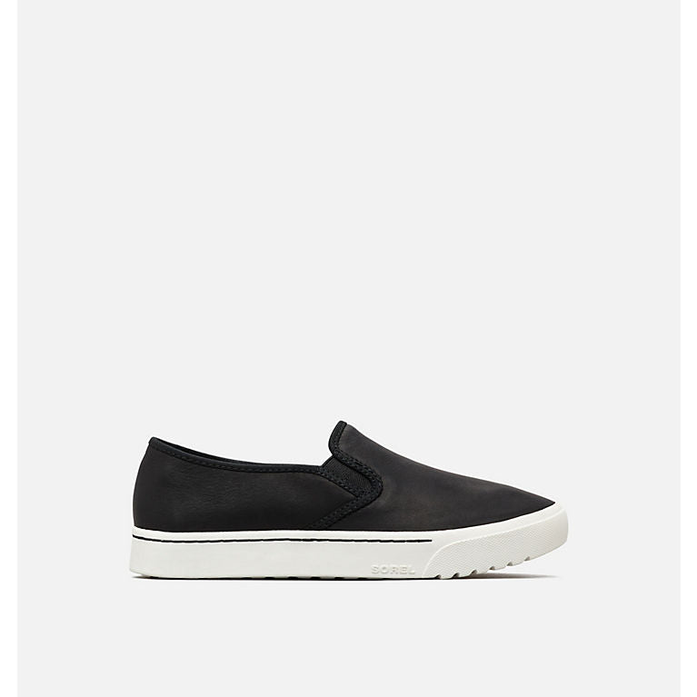 Sorel Campsneak Black Slip On Sneaker-Sorel-Lazy J Ranch Wear