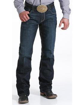 Cinch Carter 2.4 Men's Dark Wash Mid Rise Relaxed Fit Boot Cut Jean
