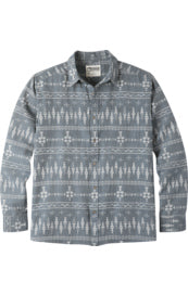 Mountain Khakis Men's Stash Flannel Long Sleeve Shirt - Twilight