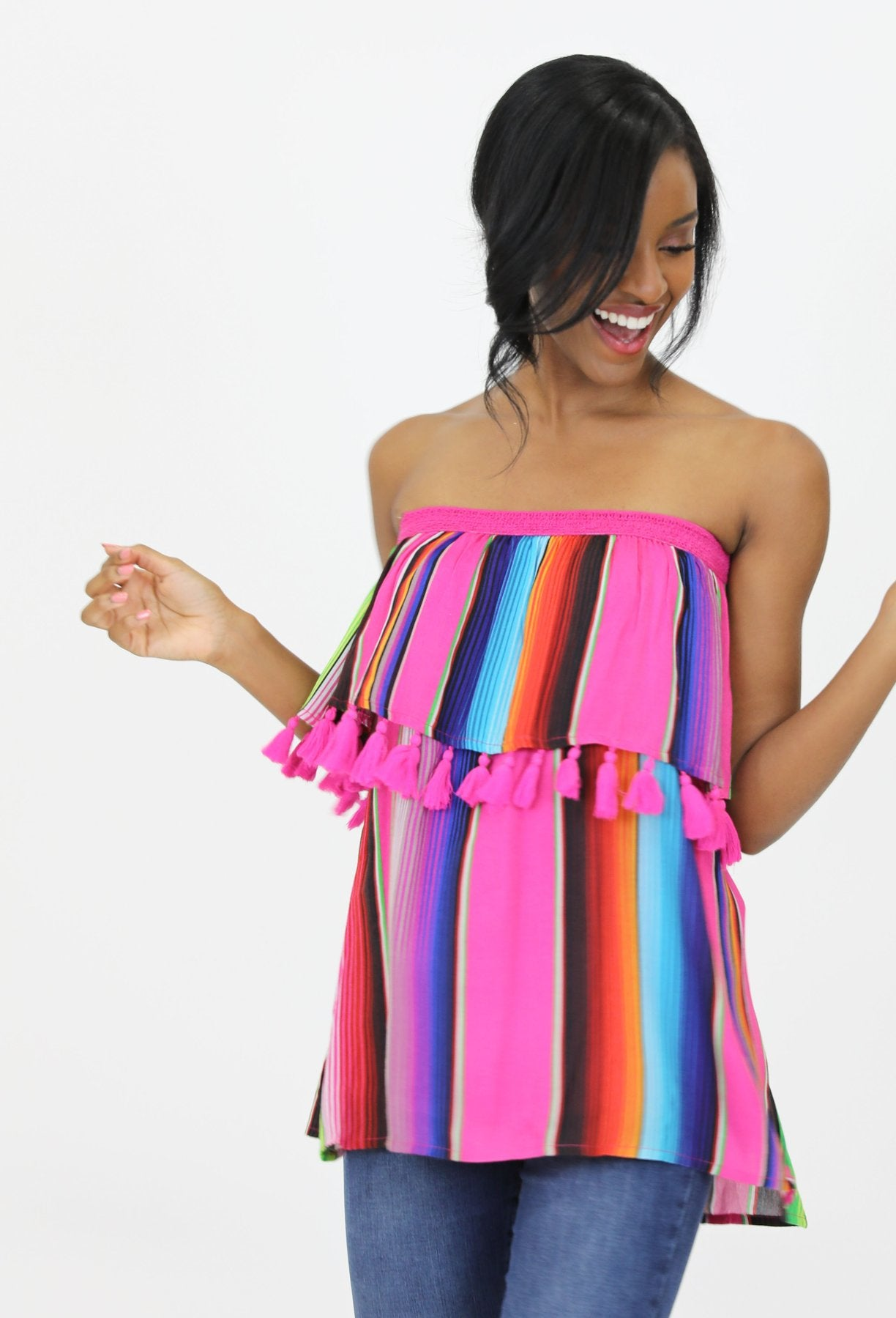El Cosmico Convertible Serape Party Top