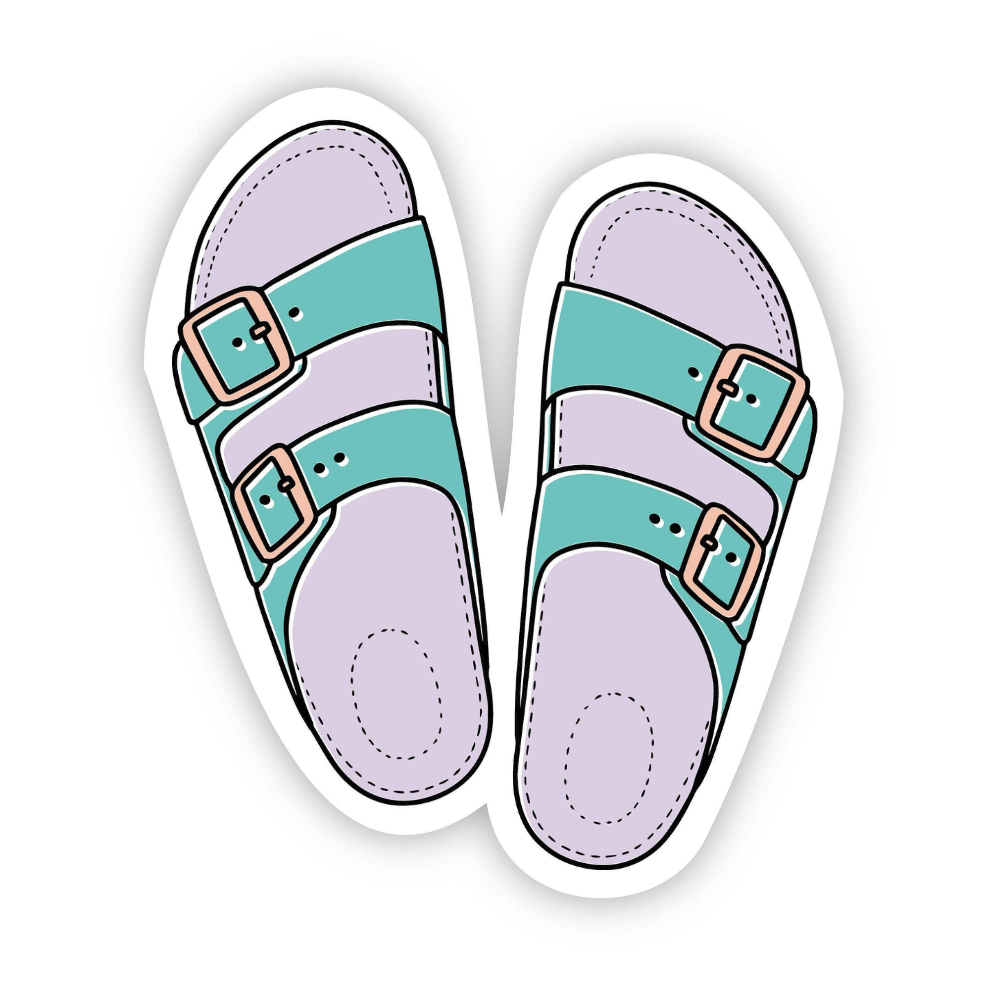 Sandal Sticker