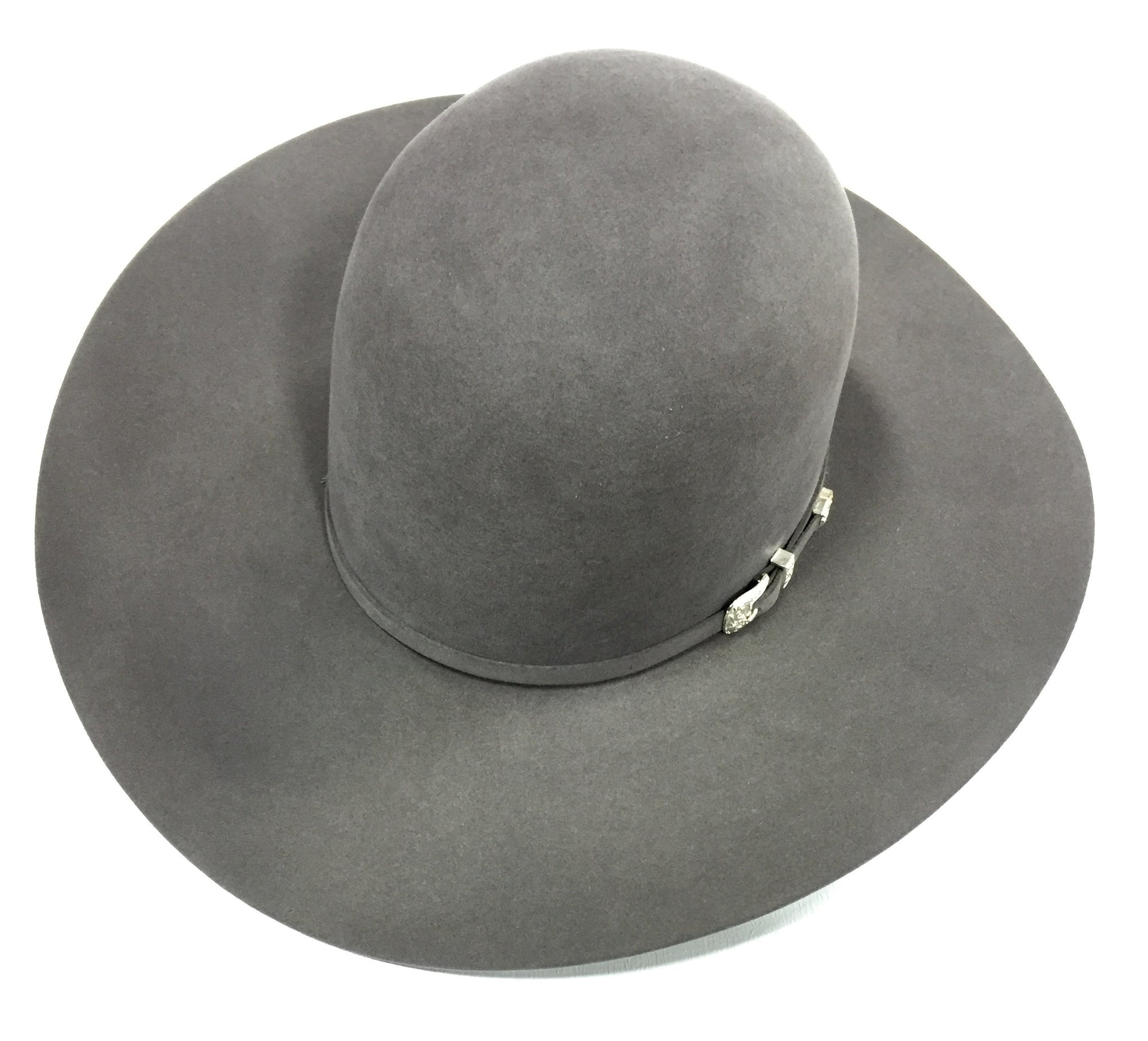 Steel Grey 10X 4 1/2 Brim Felt Hat by American Hat Co.
