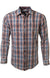 Mountain Khaki Terracotta Hombre Men's Button Down